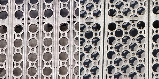 nya och gamla fasaden på Tempo eller Åhlenshuset