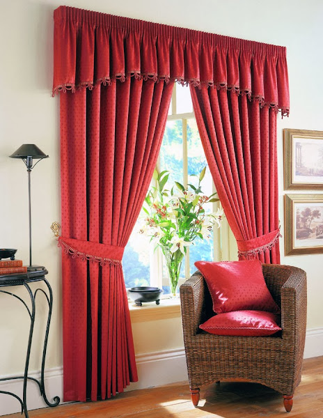 Red Curtains Drapes Drapes And Curtains