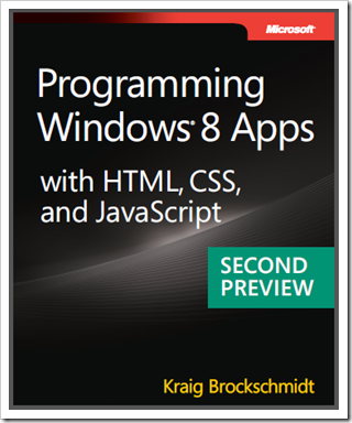 Programming Windows 8 Apps With Html Css And Javascript Second