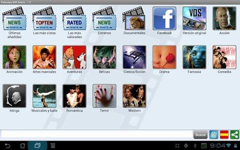 Películas WiFi Gratis para Android