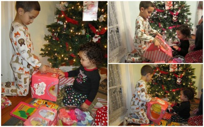 gift opening