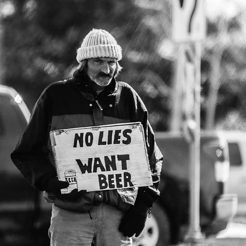 no lies want beer