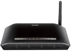 D-Link DSL-2730U-Wireless-N-150-ADSL2- 4-Port Router