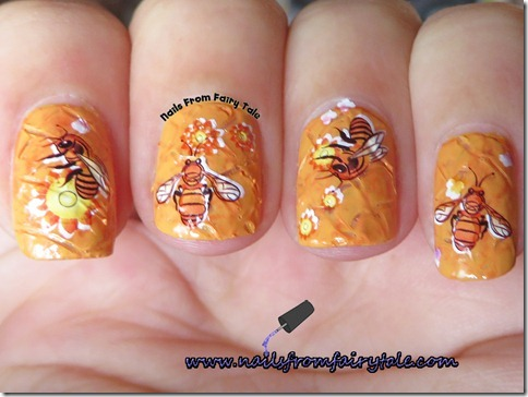 busy bee manicure 3
