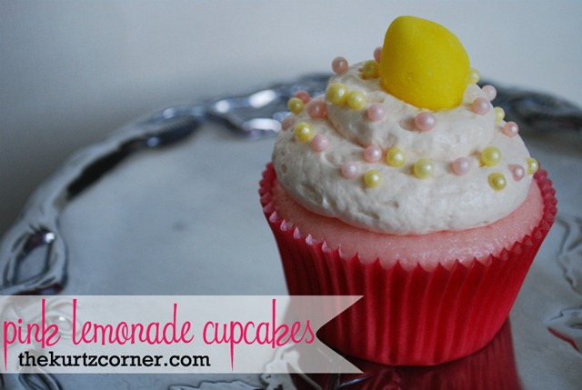 feature pink lemonade cupcakes