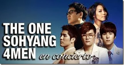 The One, Sohyang y 4Men entradas
