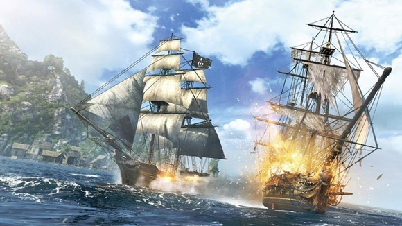 Assassins Creed 4 Black Flag graficos