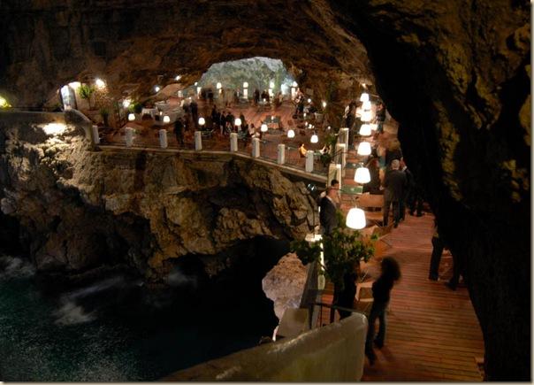Restaurant de l'hôtel Grotta Palazzese (10)