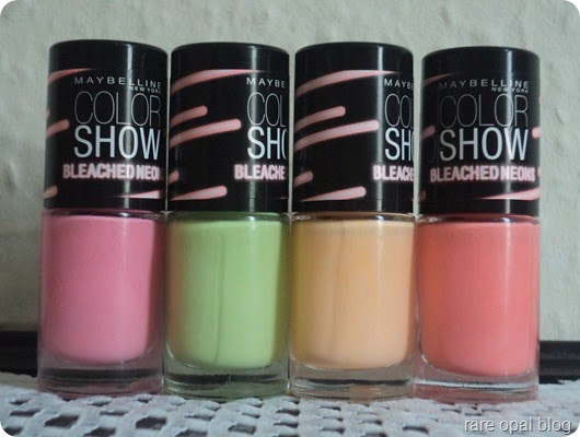 Maybelline Bleached Neon