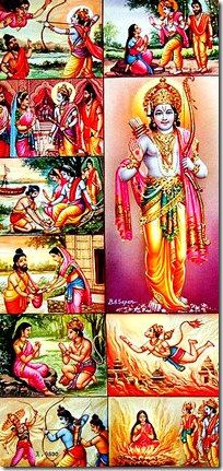 scenes from the Ramayana