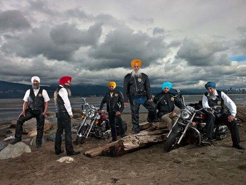 03 11 12 Sikh Motorcycle Club Vancouver BC Pier 21 69581