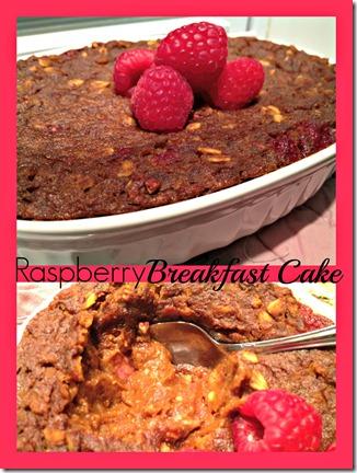 rasberry bfast cake