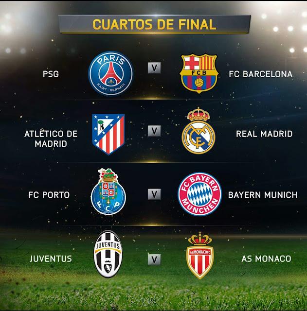 El Clutch Deportivo: Se cuadran los Cuartos de Finales de la ...
