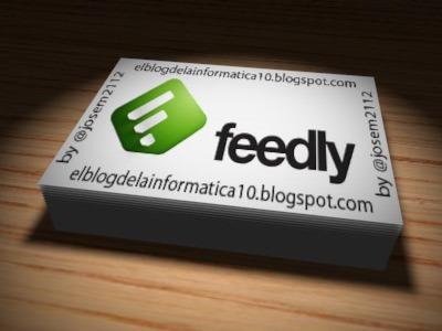 Exportar marcadores de Feedly