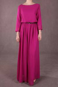 Chiffon Maxi Dress on Adik        Thepoplook  Penny Chiffon Maxi Dress  Poppy For Sale