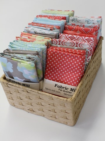 new fat quarters