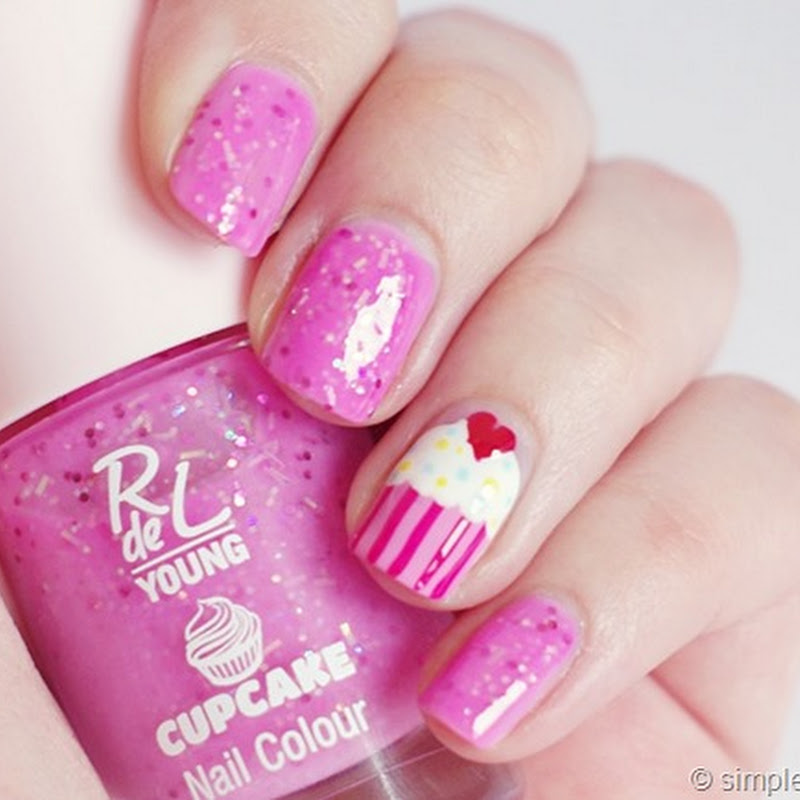 [Cupcake Nails] mit RdL Young–Strawberry Pink