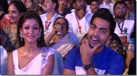 Simbu - Nayantara shares friendship again!