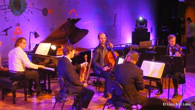 Ben and SSO members play Brahms Piano Quintet