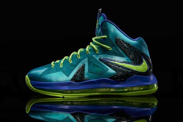 Release Reminder Nike LeBron X PS Elite 8220Sport Turquoise8221 aka Miami Dade