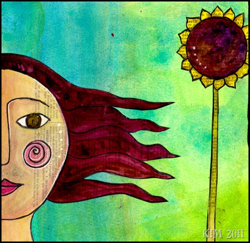 June 2011, sunflower girl 001