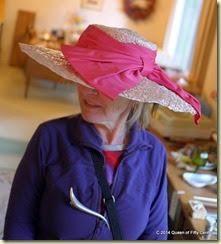 Dramatic vintage hat