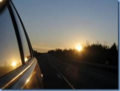 7466 Kentucky -  I-71 North - sunset behind us