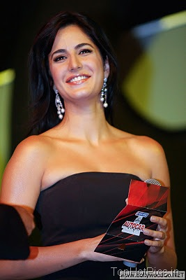 Katrina Kaif in Cute Black Dress Images 9