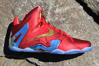 nike lebron 11 low pe championship pack 2 08 LBJ Wears LeBron 11 Low Championship Sample at His Skills Academy