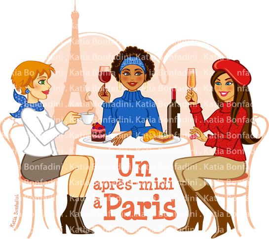 Uma tarde em Paris cors bandeira9