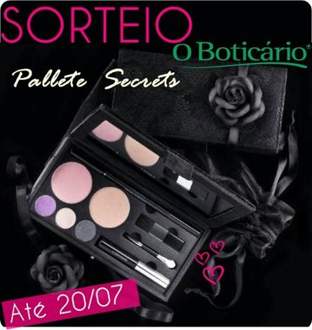 PALETA SECRETS O BOTICARIO