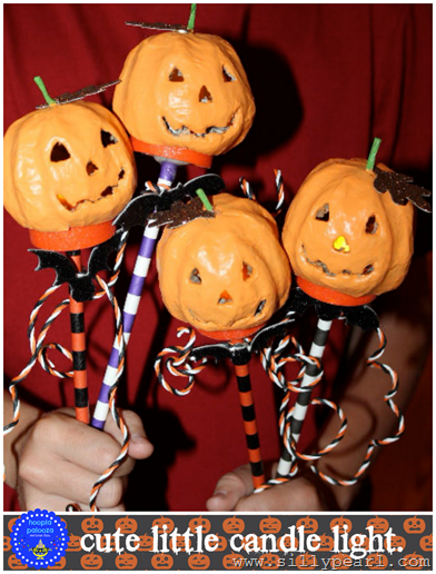 8-mini-jack-o'lantern-light-sticks-no-lights-hooplapalooza