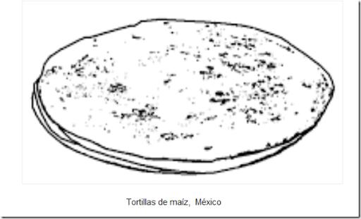 Dibujos comida mexicana para colorear | pintar y jugar