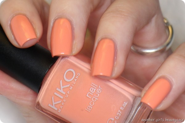 LFB Apricot 359 Light Peach Kiko swatch (7 von 7)