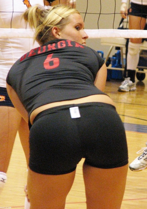 Volleyball butt-2