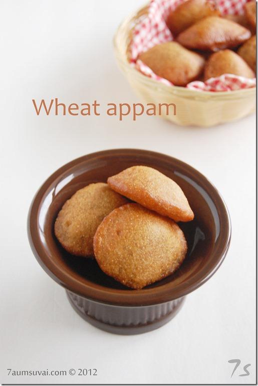 Wheat appam