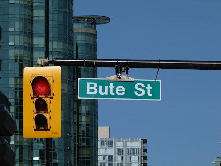 strada Bute din Canada
