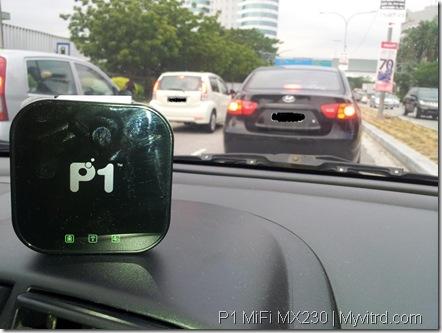 P1 MX230 Online Dalam Kereta