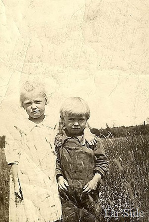Evelyn and Willard about 1920