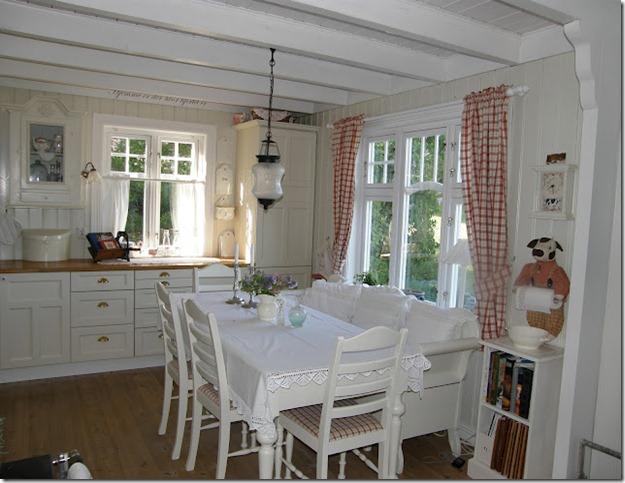 Shabby and charme in norvegia la trasformazione di una - Case norvegesi interni ...