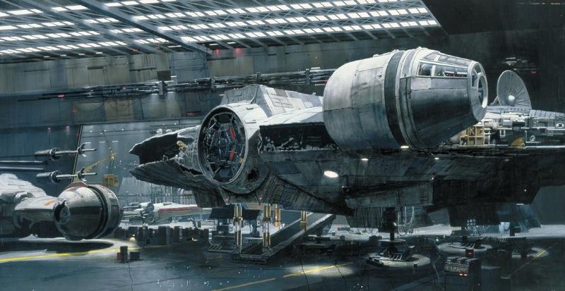 Falcon hangar