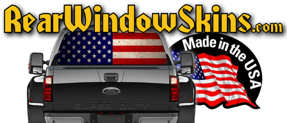 SkinYourSkunkcom Guitar Skins Rear Window Decals For Cars - Truck back window decals