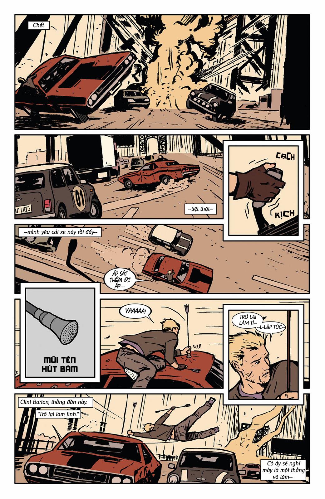 Hawkeye 2012 chap 3 - Trang 19