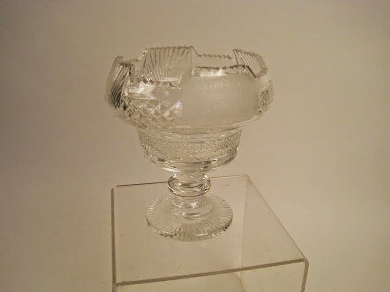Waterford Tall Inscribed Bowl