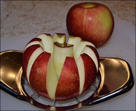 slice apples