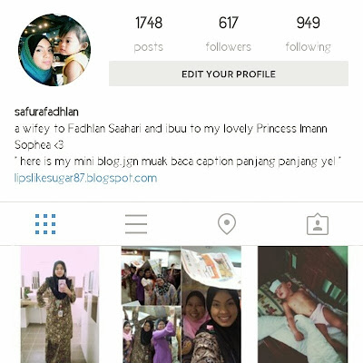 Layout baru Instagram