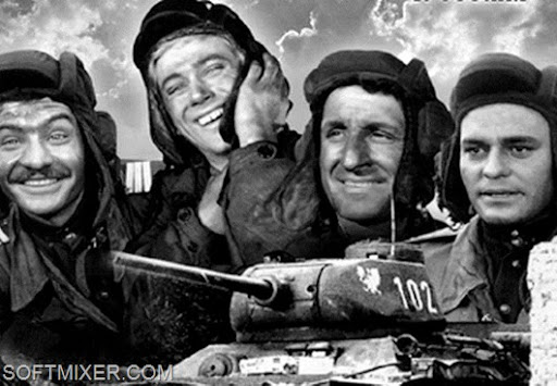 Четыре танкиста и собака. в цвете