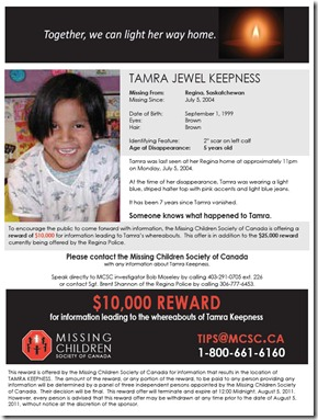 Tamra Keepness Reward JPG of Poster
