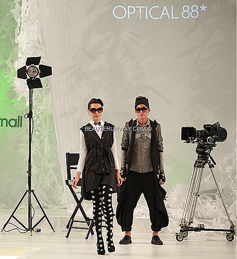 OPTICAL 88 EYEWEAR LADIES MEN DESIGNER BRANDS SPECTACULAR SHOW 2012 SPRING SUMMER FASHION WEEK MIDVALLEY MALAYSIA SHADES GLAMOUR