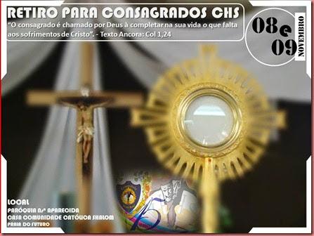 RETIRO PARA CONSAGRADOS CHS